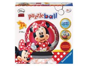Walt Disney: Minnie - 3D puzzleball 72 dílků