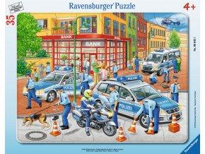 Policie - deskové v rámečku