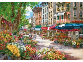 Sam Park: Paříž - květinový trh (Paris, Blumenmarkt)