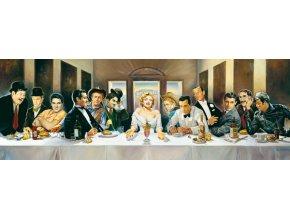 Renato Casaro: Večeře slavných osobností (Dinner der Berühmten) - panorama