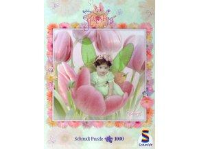 Kathleen Francour: Flitterbyes: Roztomilá v růžovém tulipánu (Pretty in Pink Tulips)