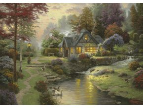 Thomas Kinkade: Klidná voda (Stillwater)