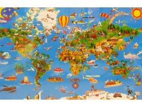 Tvůj úžasný Svět - mapa