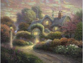 Thomas Kinkade: Dům v růžové zahradě (Cottage im Rosengarten)