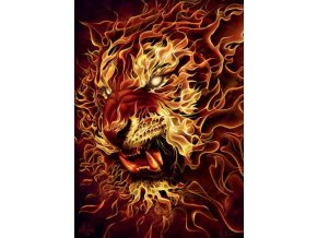 Ohnivý tygr (Fire Tiger)