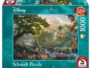 Thomas Kinkade: Disney - Kniha Džunglí