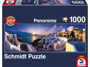 Řecko - Západ slunce na Santorini
