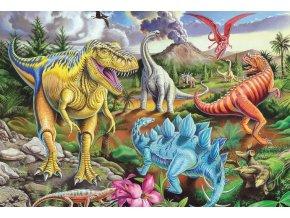 Barevní Dinosauři - pokladnička + plakát