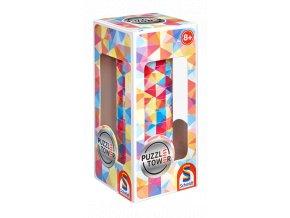 PuzzleTower: Abstraktní -  10 magnetických disků - 3D