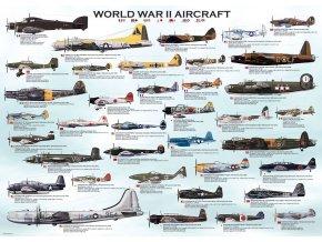 Letadla 2. světové války (World War II Aircrafts)