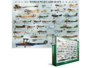 Letadla 1. světové války (World War I Aircrafts)