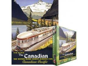 Kanadská pacifická železnice - Kanaďan (Canadian Pacific - Roger Couillard: The Canadian)