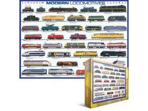 Moderní lokomotivy (Modern Locomotives)