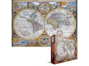 Antická mapa Světa (Antique World Map)