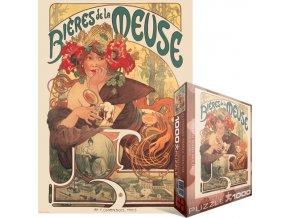 Alfons Mucha: Pivo (Bieres de la Meuse)