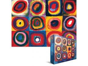 Kandinsky: Studie barev (Color Study of Squares)