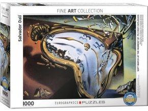 Dalí: Měkké hodiny v momentu první exploze