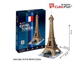 Eiffelova věž (Paříž) 3D - 35 dílků