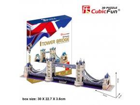Tower Bridge (Londýn) 3D - 120 dílků