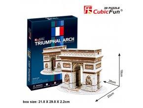 Vítězný oblouk (Paříž) 3D - 26 dílků