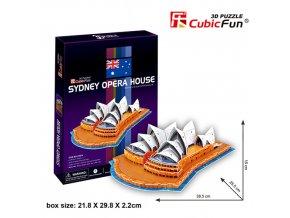 Opera v Sydney 3D - 58 dílků