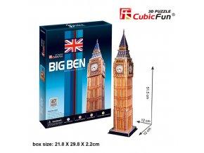 Big Ben (Londýn) 3D - 47 dílků