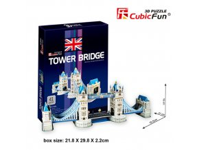 Tower Bridge (Londýn) 3D - 41 dílek