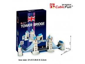 Tower Bridge (Londýn) 3D - 41 dílek