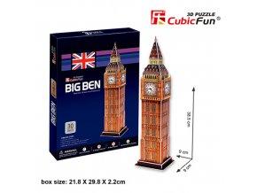 Big Ben (Londýn) 3D - 30 dílků