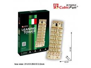 Šikmá věž v Pise  3D - 13 dílků
