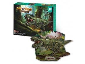 Tyrannosaurus Rex - 3D - 36 dílků