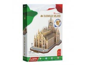 Milánský Dóm (Duomo di Milano Itálie) 3D - 251 dílek