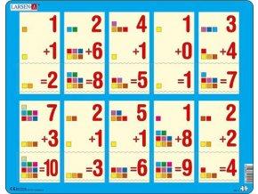 Matematika: Počítání do 10 - deskové
