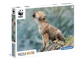 Svět přírody: Mládě vlka - 250 dílků