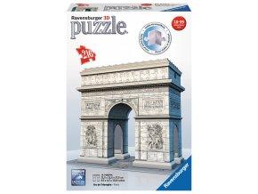 Paříž - Vítězný oblouk  - 3D  - 216 dílků