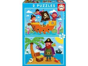 Piráti - 2 x 20 dílků