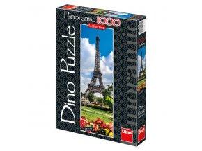 Eiffelova věž na jaře - vertikální