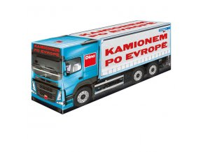 Kamionem po Evropě - rodinná hra