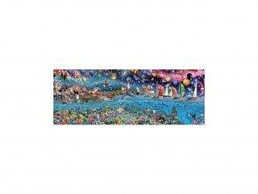 Život na Zemi - 3000 dílků - panorama