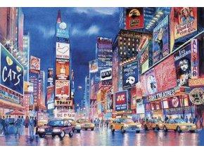New York - fluorescent - svítí ve tmě