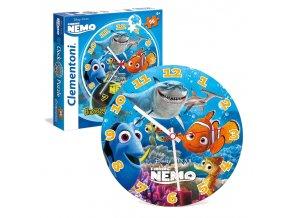 Walt Disney: Hledá se Nemo - Hodiny 96 dílků - fluorescent - svítící
