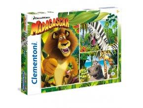 Madagaskar - supercolor - 3 x 48 dílků