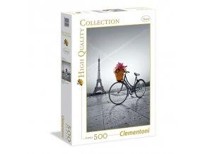 Romantická procházka Paříží