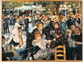 Renoir: Tanec v Moulin Rouge