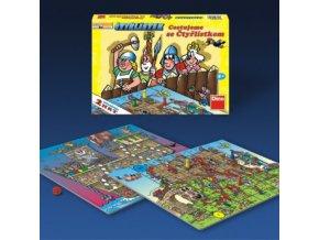 Cestujeme se Čtyřlístkem - hra pro 2 - 4 hráče