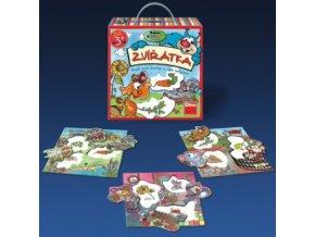 Krkouni Zvířátka - edukativní hra pro 1 - 3 hráče