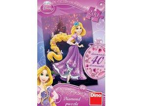 Walt Disney: Princezna Locika - diamond - včetně 40 samolepících kamínků