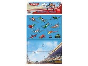 Magnetické puzzle Letadla