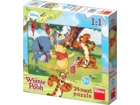 Walt Disney: Medvídek Pú - 24 maxi dílků