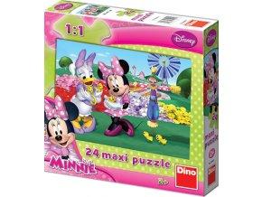 Walt Disney: Minnie Mouse - 24 maxi dílků